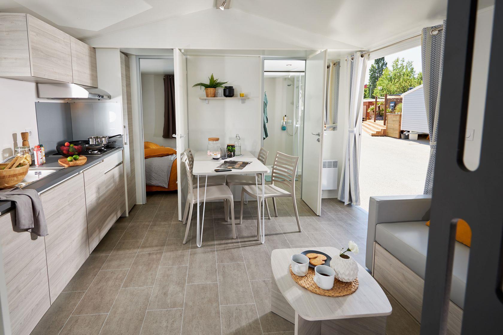 Camping-monte-ortu-nouveau mobil-intérieur